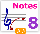 Notes learn 8