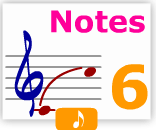 Notes learn 6